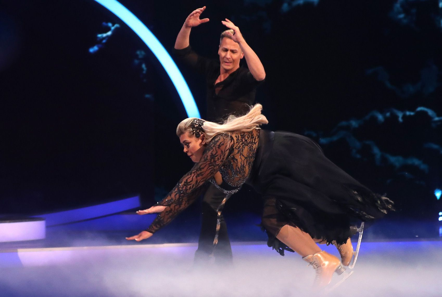 Gemma Collins Dancing on Ice - Credit Rex Features