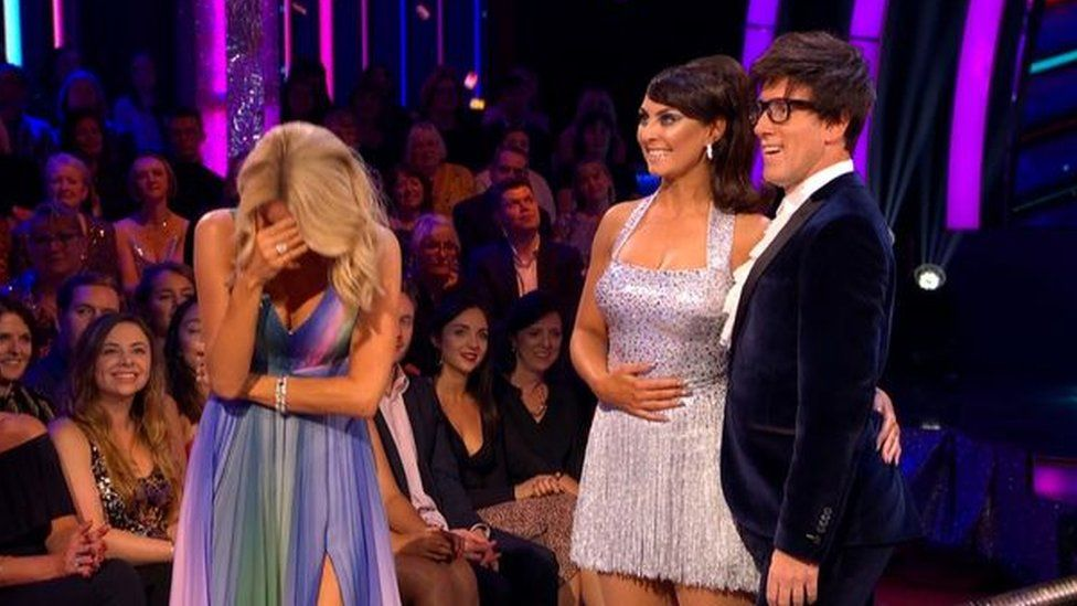 Strictly Anton teeth blunder - Credit BBC