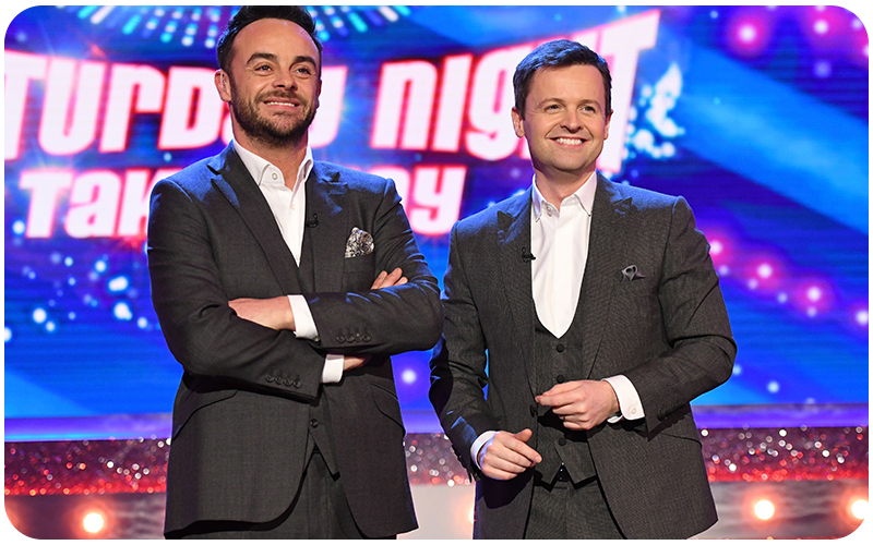Ant & Dec on Saturday Night Takeaway