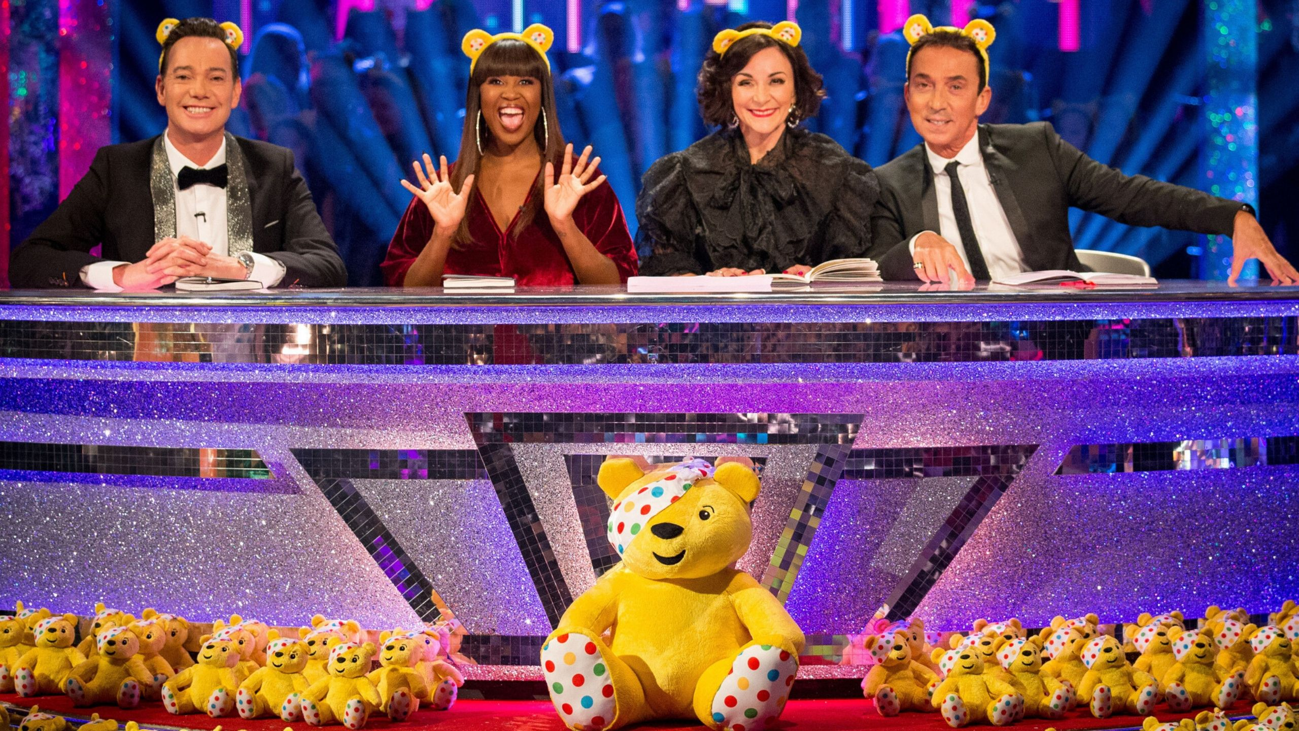 Strictly judges Children in Need