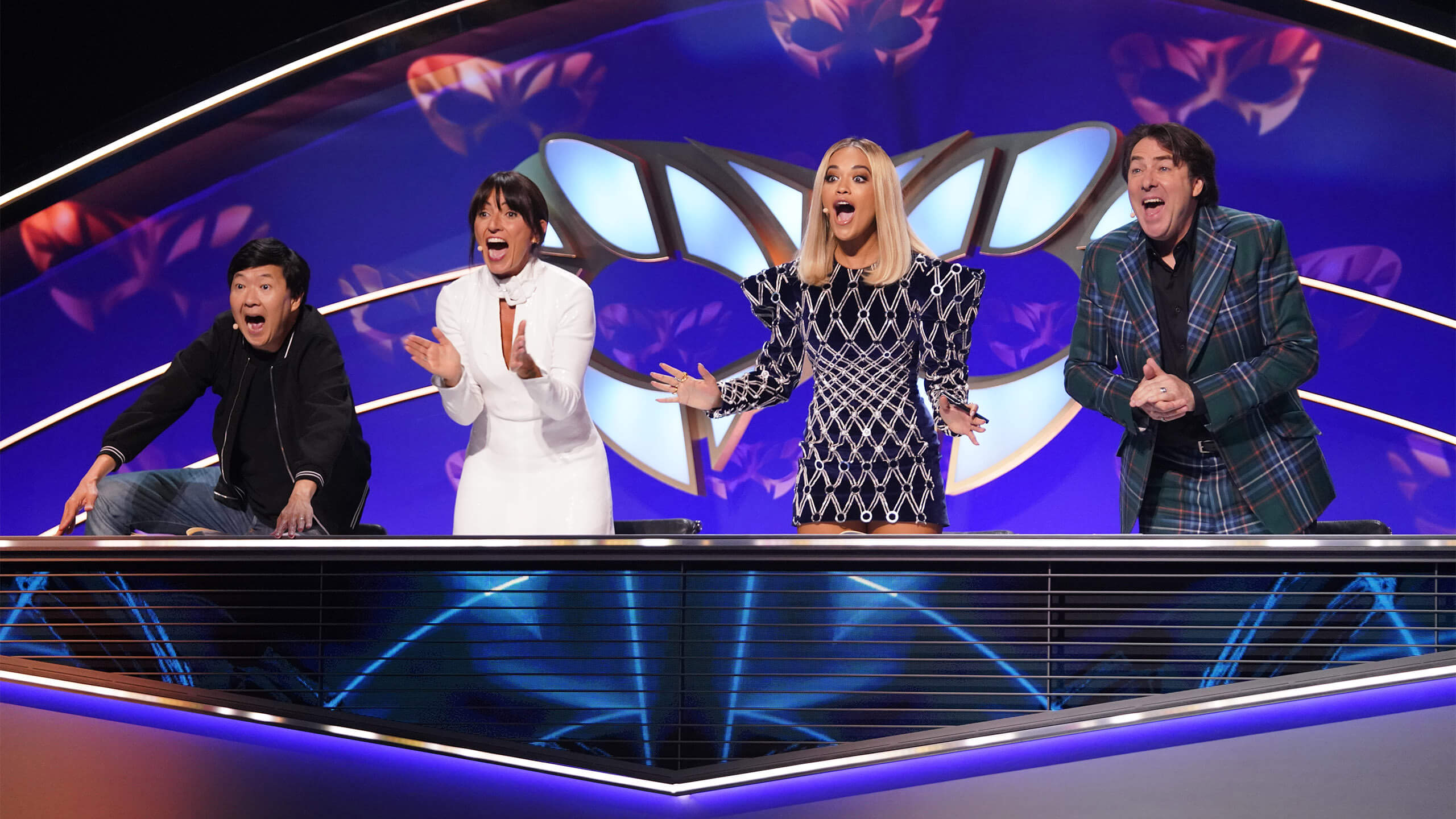 The Masked Singer - panel of four judges