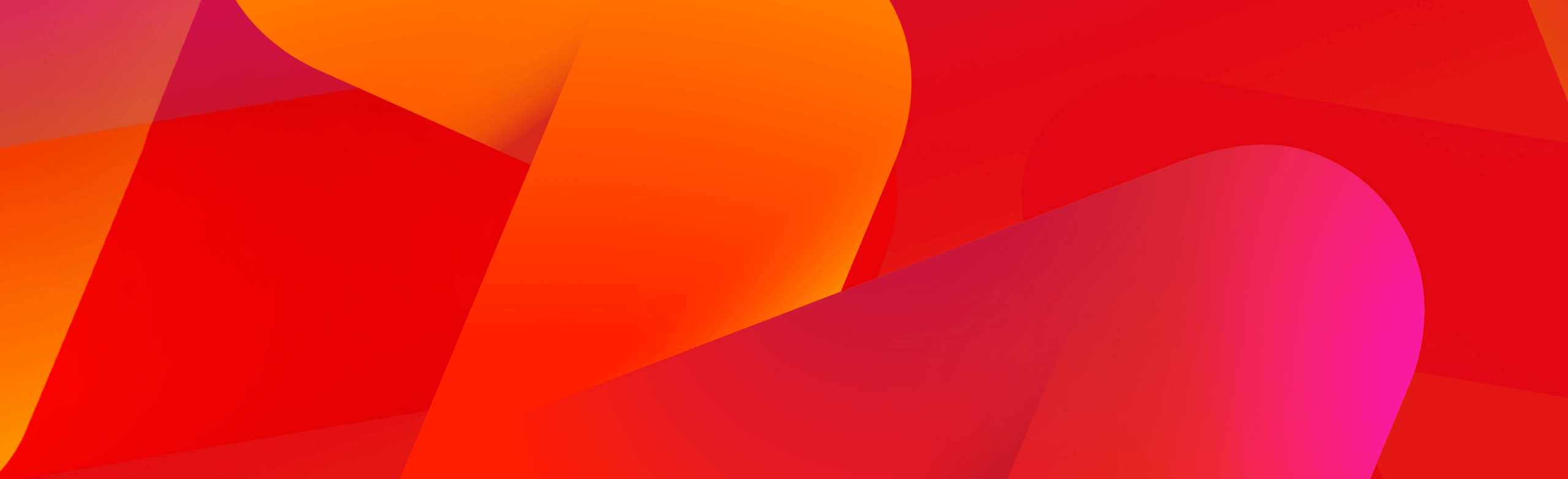 Freeview red and orange background