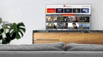 Freeview Play EPG featuring catch-up players
