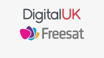 Digital UK and Freesat logos