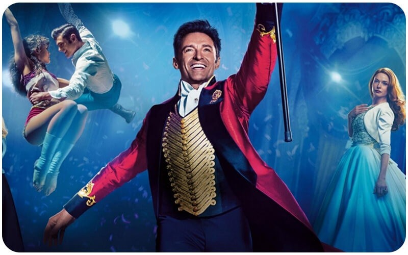 The Greatest Showman, All4