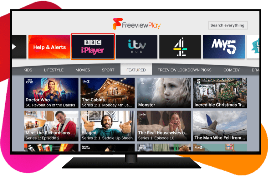 Explore Freeview Play Jan 2021