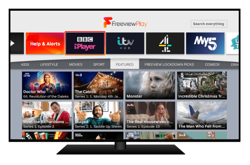 Jan 2021 Freeview Play TV