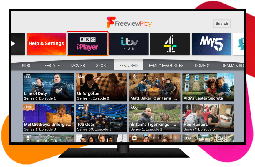 Explore Freeview Play